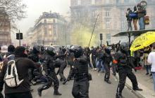 Акции против расизма в Лондоне и Париже: протесты переросли в столкновения с полицией