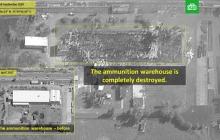 Асад понес потери: Израиль показал кадры разрушений в Сирии после удара, во время которого погиб Ил-20