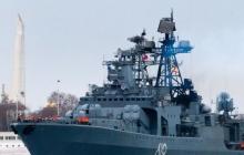 Зачем боевой корабль Северного флота РФ прибыл в оккупированный Севастополь - фото