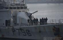 Вслед за британским Airbus в Одессу прибыл боевой корабль Франции Commandant Birot - что происходит
