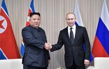 """""""Наконец-то нашел себе ровню, а то все от него шарахаются"""", - россияне высмеивают Путина на встрече с Ким Чен Ыном"""