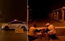 Черновцы под карантином: въезд и выезд под запретом, полиция ночью бетонными блоками перекрыла трассы