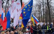 В день убийства Немцова десятки тысяч россиян в Москве, Питере и других городах РФ требуют отставки Путина: видео