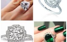 Выбираем кольца по особенностям пальцев и другим критериям