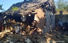 На Донбассе террористы атаковали дома мирных жителей – кадры