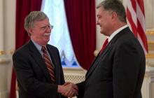 Болтон рассказал, как Порошенко хотел поддержки США на выборах и санкций против Коломойского