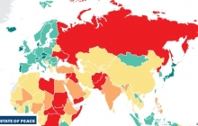 Украина вошла в ТОП-10 наименее мирных стран мира: из-за агрессии России страна стоит в рейтинге рядом с Сирией и Афганистаном