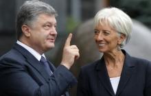 """Порошенко и глава МВФ обсудили ситуацию с """"Приватбанком"""": подробности"""