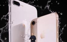 Долгожданная новинка: Apple показали свои новые смартфоны iPhone 8, - кадры