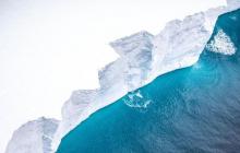 Британскому острову в Атлантике угрожает огромный айсберг: его площадь превышает Черновицкую область