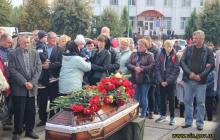 Душераздирающие кадры прощания 2-летнего сына с погибшим в АТО отцом Сторожуком