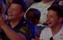 """""""Лига смеха"""" в Одессе грубо шутила над Порошенко: Зеленский и Богдан смеялись до слез - видео"""