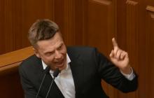 """""""Это вы виновны"""", - Гончаренко в Раде накричал на Зеленского, и ему выключили микрофон"""