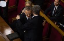 Порошенко провел теплую встречу со Столтенбергом в Верховной Раде