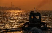 В Керченском проливе затонул корабль времен оккупации Крыма