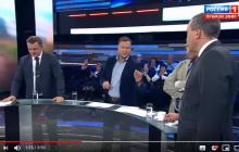 """""""Какая Сирия? Рубль падает, инвесторы бегут!"""" - на росТВ скандал из-за неудобной правды в прямом эфире"""