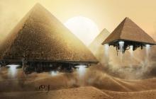 В Египте найден манускрипт, свидетельствующий о вторжении инопланетян на Землю