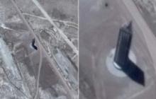 """Антенна для связи с неземными цивилизациями: в """"Зоне 51"""" уфологи обнаружили таинственный небоскреб – кадры"""