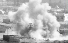 Сирия: возле города Манбиджа авиация уничтожила колонну пророссийских войск - видео