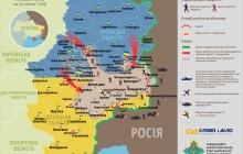 Карта АТО: Расположение сил на Донбассе на 25.07.2014
