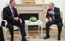 """Путин и Додон договорились """"добить"""" Молдову, сделав ее колонией России"""