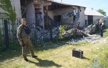 Супружеская пара получила серьезные травмы от взрыва в прифронтовом Лисичанске