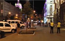Оглушающие звуки стрельбы и странное поведение убийцы: видеозапись резонансной перестрелки в Харькове