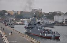 В порт Одессы зашел флот НАТО - фото эскадры Альянса встревожат Кремль