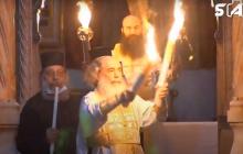 Благодатный огонь сошел в Иерусалиме - фото и видео, как это было