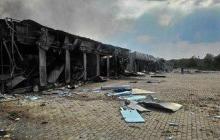 """Рынок """"Сокол"""" в Донецке и то, что от него осталось (фото)"""