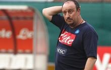 """Тренер """"Наполи"""" Бенитес уйдет в отставку после проигрыша """"Днепру"""""""