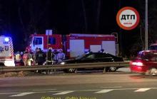 В Киеве мотоциклист взорвал маршрутку: много пострадавших, место оцеплено - фото и видео