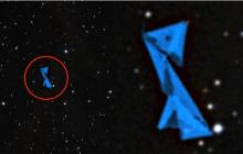 В созвездии Ориона уфологи нашли громадный флот инопланетян – кадры