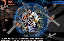 Илон Маск собирается поразить мир: на орбите появятся 60 спутников одновременно