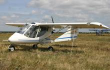 В Сумской области рухнул легкомоторный самолет: пилот погиб