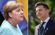 Телефонный разговор Зеленского и Меркель: появились важные подробности