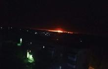 Взрывы военных складов в Ичне: опубликованы леденящие дух кадры