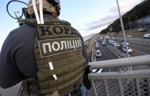 """Захват """"минером"""" моста Метро в Киеве - все подробности ЧП"""