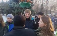 В полиции Киева вынесли вердикт помощнику Савченко, задержанному во время митинга на Михайловской