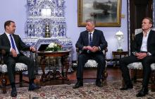 Медведчук и Бойко снова поехали в Москву к Медведеву с предательским планом по Украине: заявление вызовет скандал