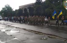 Похороны убитых террористами на Донбассе морпехов на Черниговщине – кадры