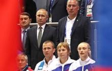 Путин в Минске подскочил при звуках гимна Украины и начал тянуться во весь рост - фото