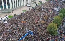 """Москва восстала: 50 тысяч россиян скандируют: """"Долой царя"""" - мощные кадры"""