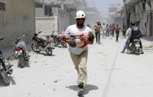 С утра Асад и российские военные ударили по яслям в провинции Идлиб: 20 невинных детей получили ранения - СМИ опубликовали кадры