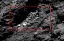 Ученый из Тайваня обнаружил на поверхности кометы останки 80-метровой инопланетной твари