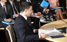 """Зеленский рассказал об одном из """"козырей"""" Путина во время встречи в Париже"""