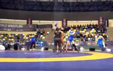 Борцы Украины и Грузии ввязались в массовую драку прямо во время турнира: появилось видео из Стамбула