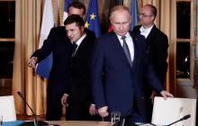 Закрытая встреча Путина и Зеленского в Париже: в Сеть попали любопытные детали