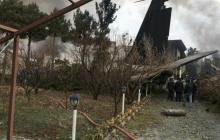 В Иране рухнул самолет с десятками пассажиров – кадры и подробности трагедии
