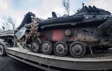 Опубликованы кадры покалеченной боевой машины, в которой подорвался на мине и погиб боец ВСУ Сергей Валах